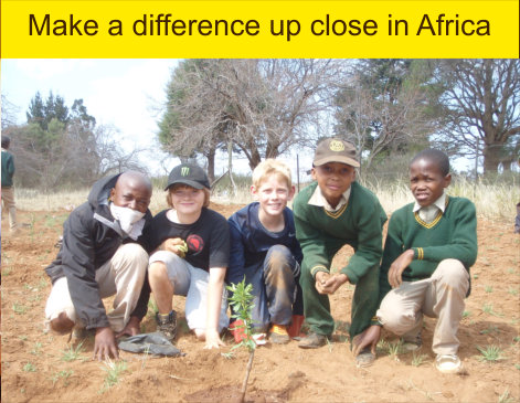Make a difference up close in Africa